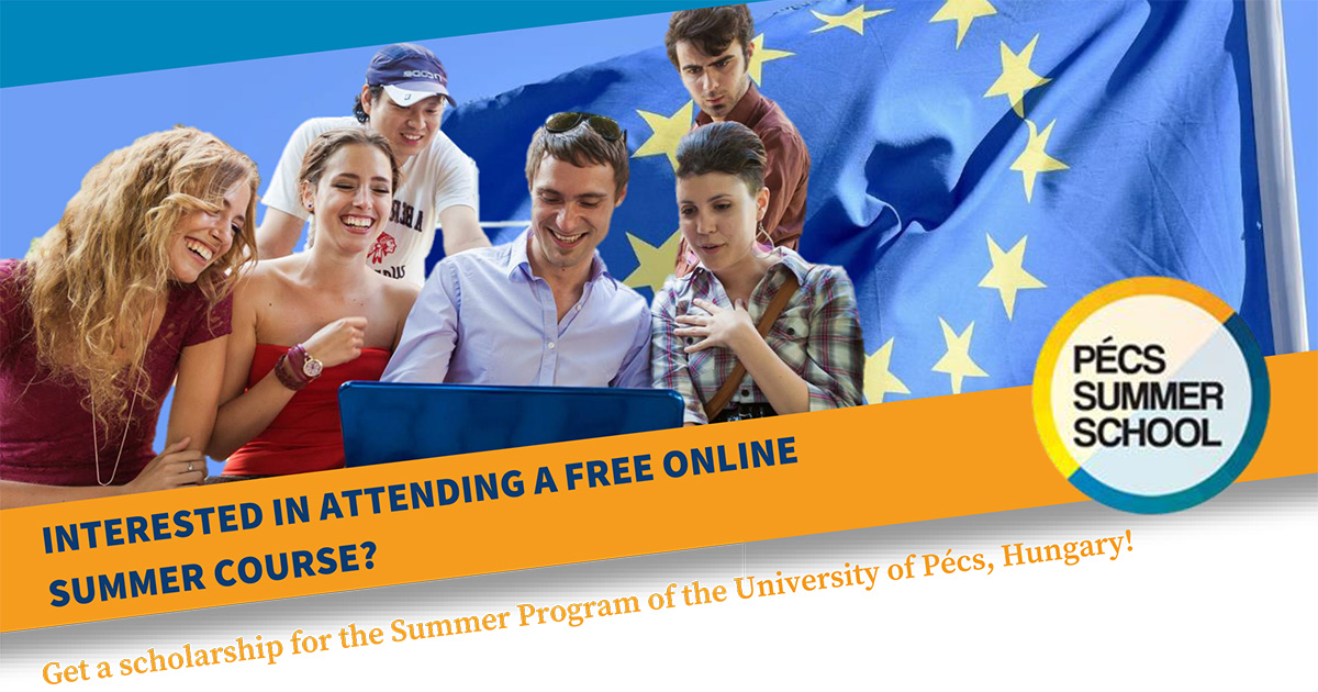 CEEPUS Summer School University of Pécs 2021 flyer