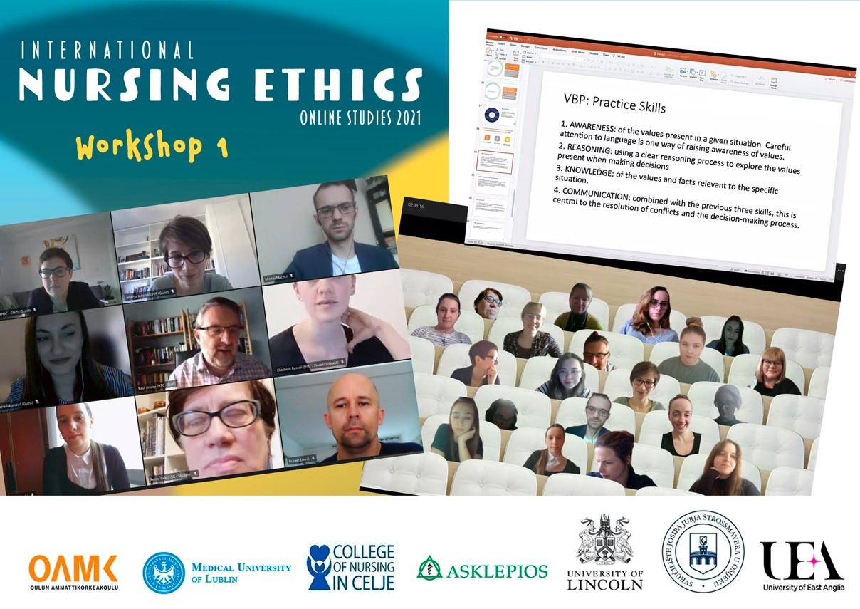 "Međunarodna projektna aktivnost ""International Nursing Ethics Online Studies 2021"""